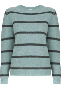Le Kasha Toucques Striped Jumper - Azul