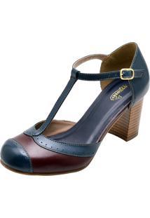 Sapato Miuzzi Boneca 3185 Azul Marinho