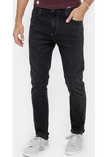 Calça Jeans Skinny Colcci Enrico Lavagem Escura Masculina - Masculino