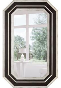 Espelho Decorativo Cagliari 82X132 Cm Prata