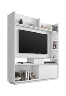 Estante Home Divisor De Ambientes Para Tv Até 50 Pol. Versus Branco Ve