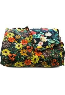 Preen By Thornton Bregazzi Edredom Floral De Seda Com Penas Ensacadas - Estampado