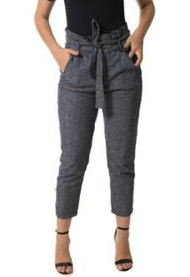 647de7a3a ... Calça Jeans Denúncia Clochard Feminina - Feminino-Azul