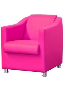 Poltrona Decorativa Lyam Decor Laura Corino Pink - Rosa - Dafiti