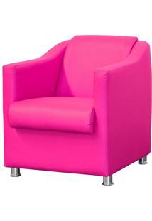 Poltrona Decorativa Lymdecor Laura Corino Pink