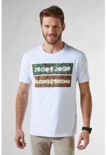 Camiseta Reserva Estampada Jogo X Jogo Masculina - Masculino