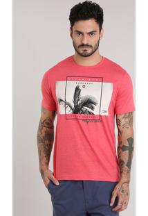 "Camiseta ""Perfect Wave"" Coral"