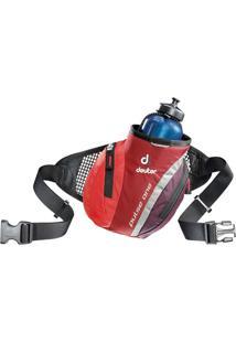 Pochete Pulse One Vermelho Com Compartimento Principal Para Garrafa - Deuter