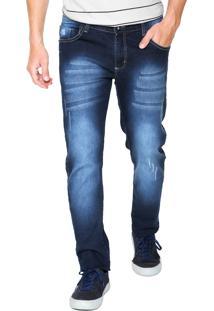 Calça Jeans Fiveblu Skinny Houston Azul