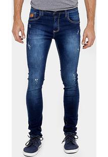 Calça Jeans Colcci Justin Indigo Masculina - Masculino