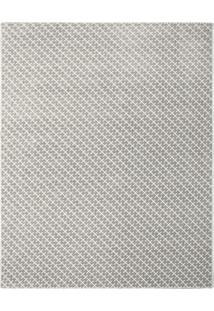 Tapete Classe Geométrico- Cinza & Branco- 400X300Cm