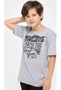 Camiseta Disney Carros Jackson Storm Retrô Masculina - Masculino