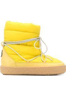 Isabel Marant Zimlee Padded Ankle Boots - Amarelo