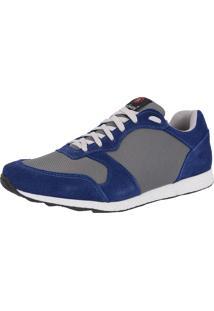 Tênis Galway Jogger Recortes Azul 602