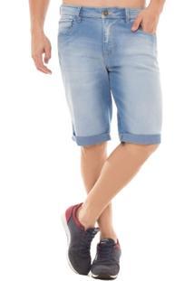 Bermuda Jeans Middle Osmoze - Masculino