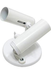 Spot De Sobrepor Para 2 Lâmpadas Popular Branco