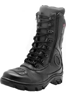 Bota Atron Shoes Militar Preto