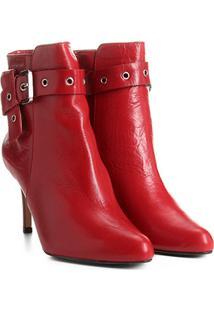 ed028d3c0 Bota Cano Curto Shoestock feminina