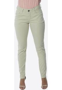 Calça Jeans Osmoze Skinny Z 24120 149 Bege - Bege - 42 - Feminino