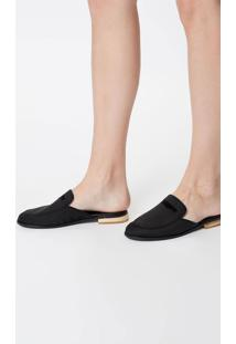 Sapato Slipper Preto - 34