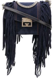Givenchy Bolsa Tiracolo 'Gv3' De Couro - Azul