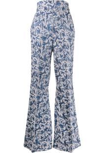 Atu Body Couture Calça Flare Rhytm - Azul