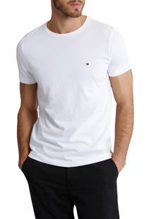 Camiseta Tommy Hilfiger Masculina Tees Branca