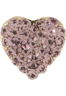 Broche Armazem Rr Bijoux Coração Rosa - Kanui