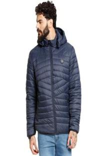 Jaqueta Vlcs Diferenciada Proteção Térmica Masculina - Masculino-Azul