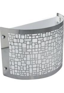 Arandela Taschibra Radiance 1X E 27 – Alumínio Polido