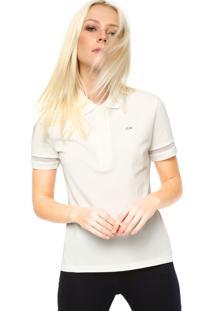 Camisa Pólo Lacoste Manga Curta feminina  87a339db98f51