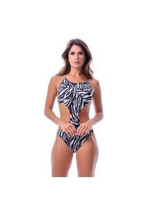Maiô Summer Soul Engana Mamãe Com Amarração Zebra