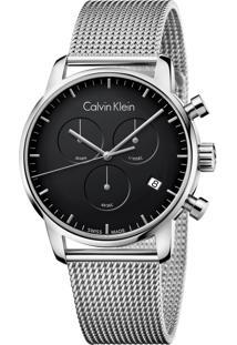 6bc2ce6207ccd Dafiti. Relógio De Grife Masculino Calvin Klein K2g27121 Prata