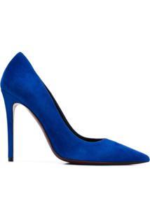 Deimille Scarpin De Couro - Azul