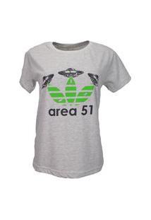 T-Shirt Area 51 Cinza