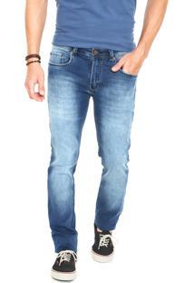 Calça Jeans Redley Reta Denim Azul