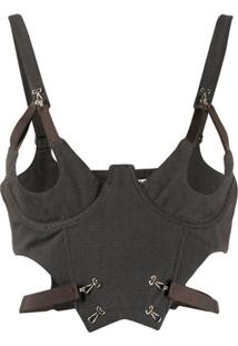 Charlotte Knowles Colete Harness - Cinza