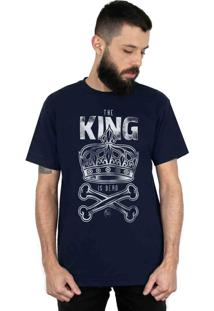 Camiseta Bleed American King Is Dead Marinho