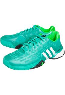 ... Tênis Adidas Performance Barricade 2016 Boost Verde-Água cb830554cba3a