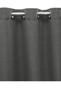 Cortina Blackout Tecido 2,60X2,30 Becadecor Grafite