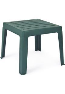 Mesa Para Jardim De 4 Lugares 40X40 Anadia – Xplast - Verde