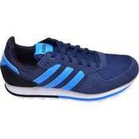 Tênis Masculino Casual 8K Adidas Azul Marinho 0847a18fe55