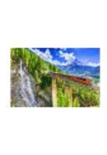 Painel Adesivo De Parede - Suíça - Paisagem - Mundo - 1258Png