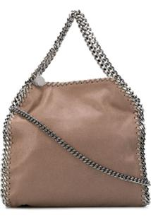 Stella Mccartney Bolsa Transversal Falabella Mini - Marrom