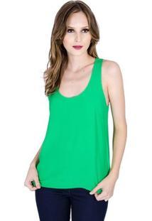 Blusa Regata Básica Colcci Feminino - Feminino-Verde