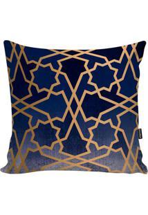 Capa Para Almofada New Geometric- Azul & Azul Marinho