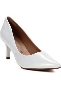 Sapato Scarpin Feminino Crysalis Branco