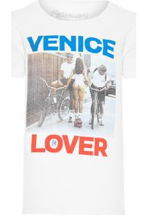 Camiseta Masculina Venica Lover - Off White