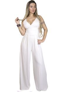 Macacão Dress Code Moda Off White