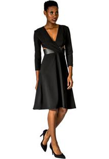 a10a32df4 Vestido Balada Couro feminino | Gostei e agora?